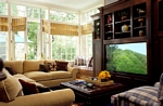 TV Cabinet and Window Seat